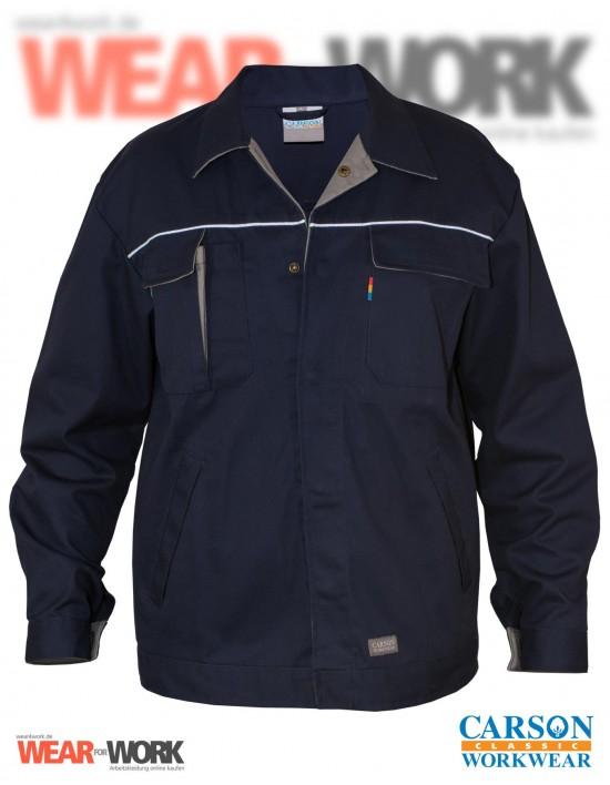 Arbeitsjacke marine/grau CC710