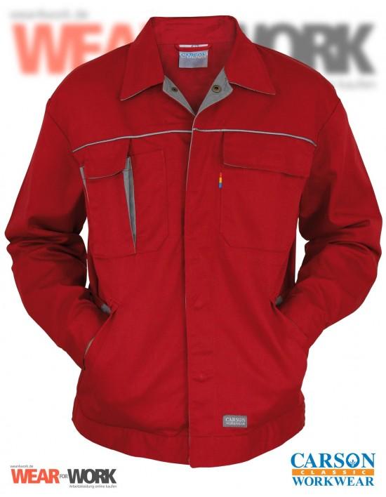 Arbeitsjacke rot/grau CC710