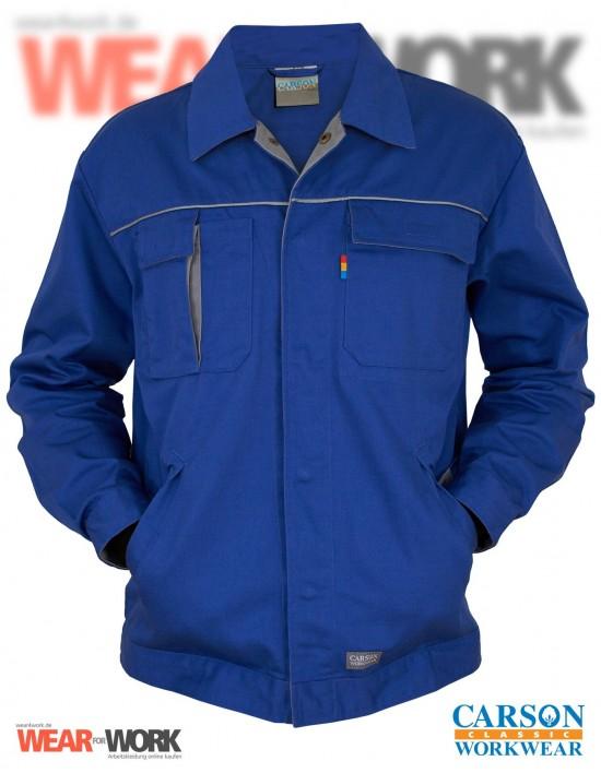 Carson Contrast Jacke blau