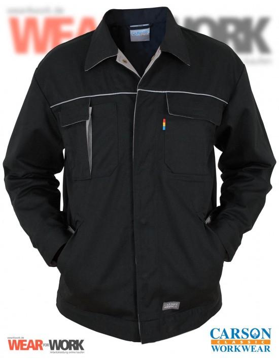 Arbeitsjacke schwarz/grau CC710