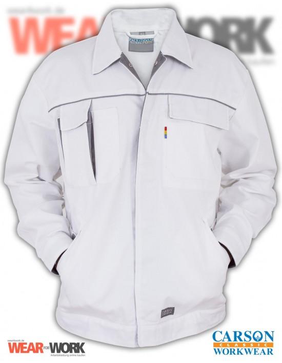 Arbeitsjacke weiss/grau CC710