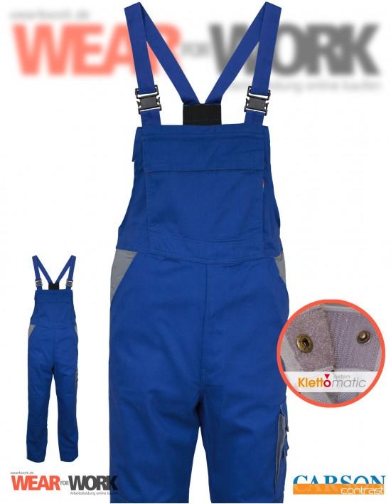 Latzhose blau/grau CC726 bei wear4work.de