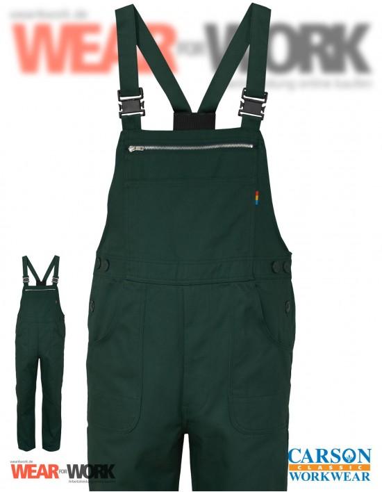 Latzhose grün KTH726 bei wear4work.de