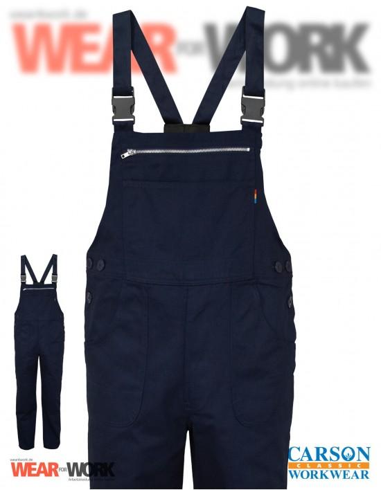 Latzhose marine KTH726 bei wear4work.de