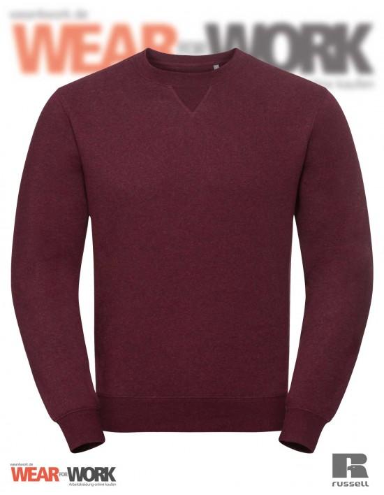 Melange Sweatshirt R-260M burgund