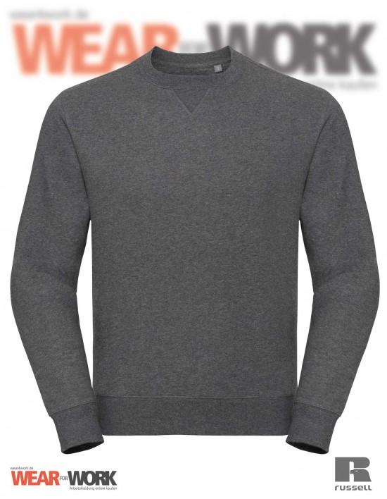 Melange Sweatshirt R-260M grau