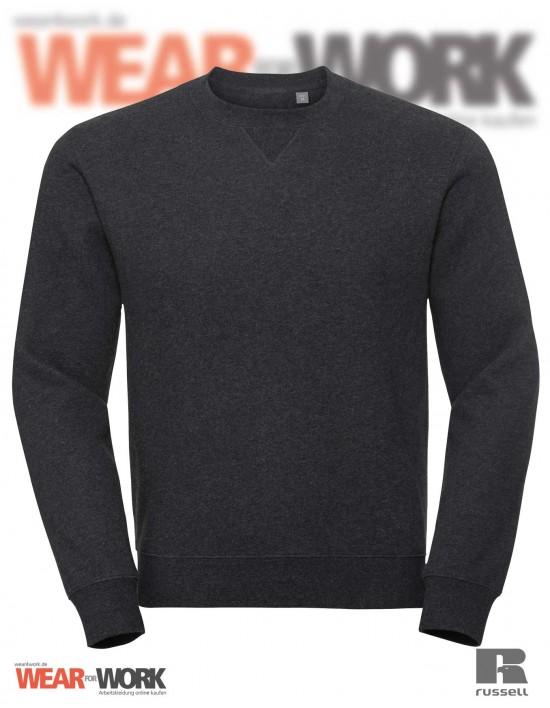 Melange Sweatshirt R-260M anthrazit