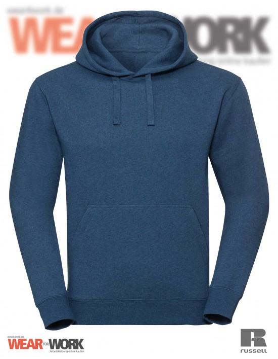 Melange Hoodie R-261M blau bei wear4work.de