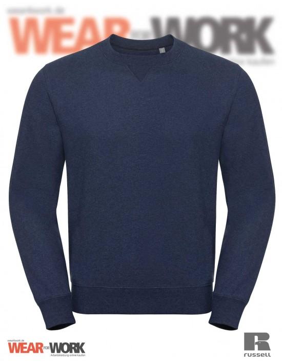 Melange Sweatshirt R-260M indigo bei wear4work.de