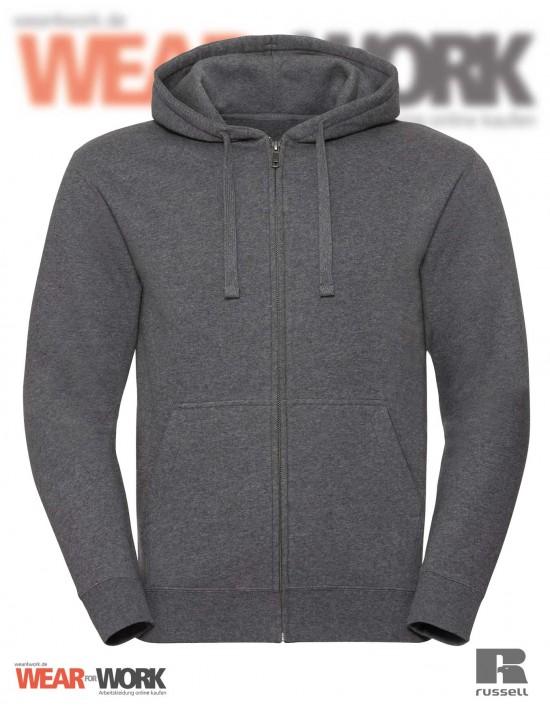 Melange Hoodie Jacket R-263M grau