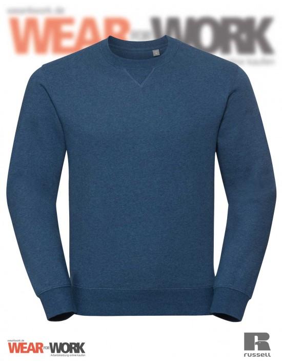 Melange Sweatshirt R-260M blau