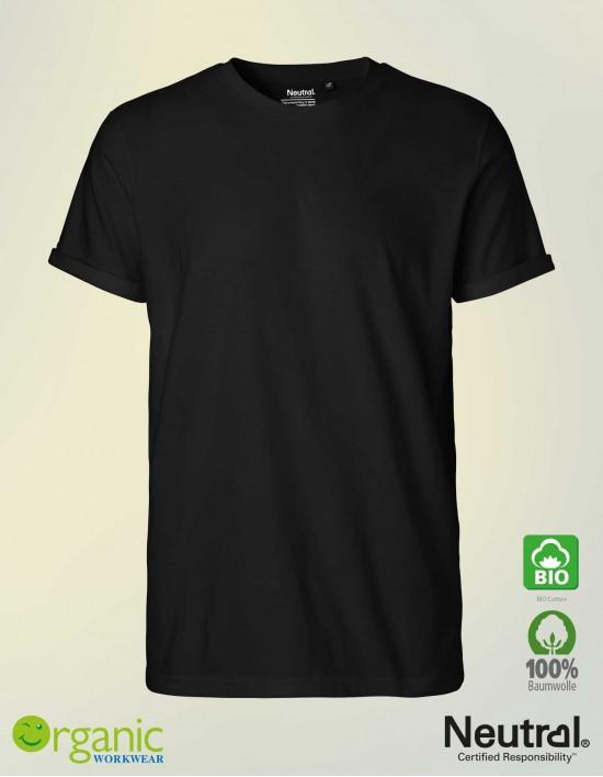 Bio Roll-up T-Shirt für Herren