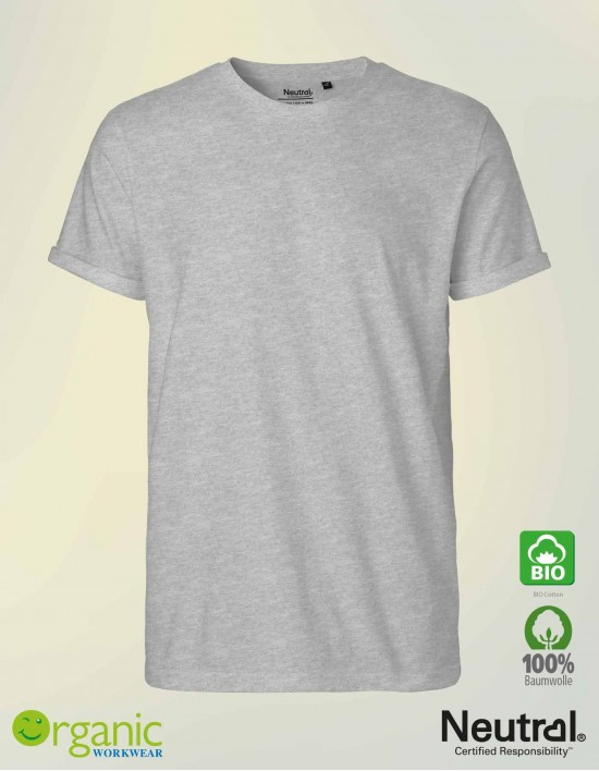 Bio Roll-up T-Shirt für Herren
