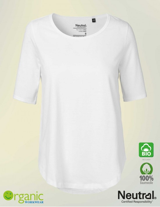 Damen 1/2 Arm T-Shirt