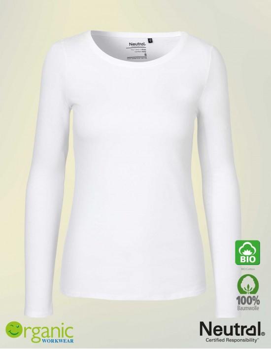 Neutral Damen Langarm T-Shirt