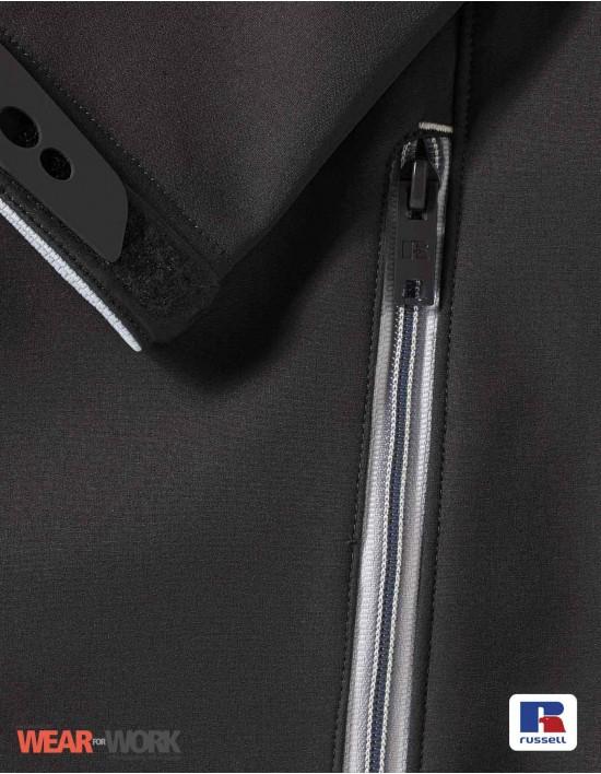 Bionic Softshell schwarz R-410