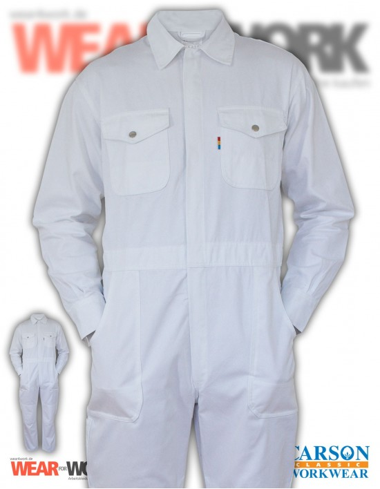 Overall weiss KTH735