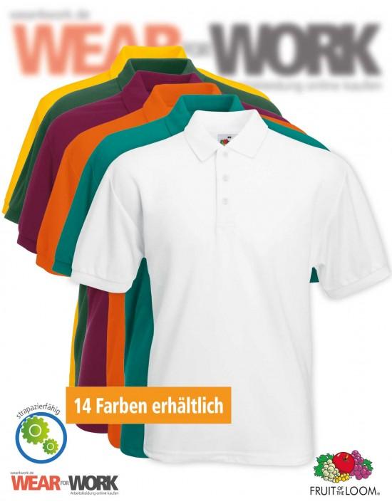 Workwear Polo Shirts 65/35