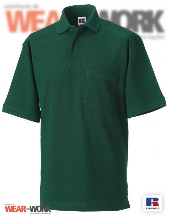 Workwear Polo grün Herren R-011M