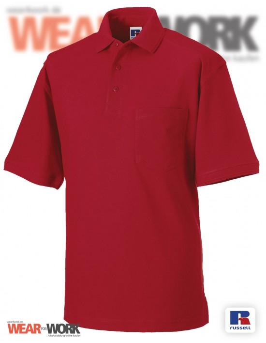Workwear Polo rot Herren R-011M