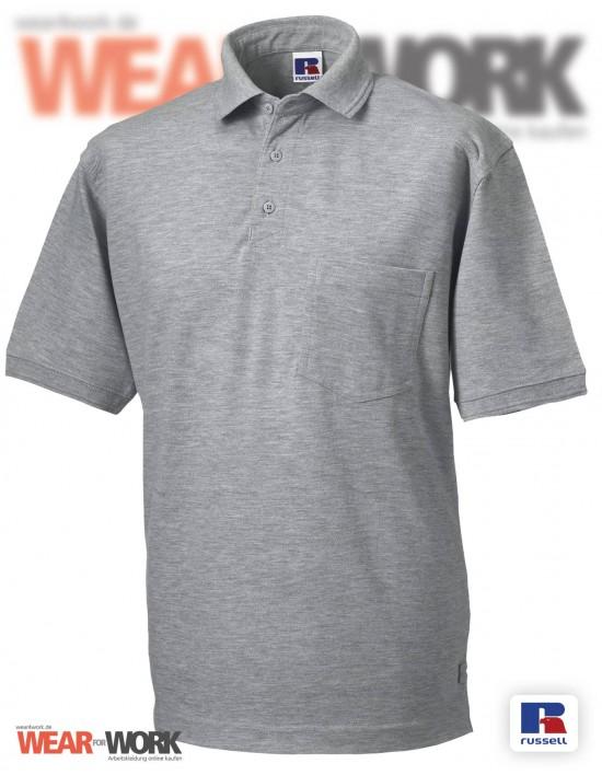Workwear Polo grau Herren R-011M