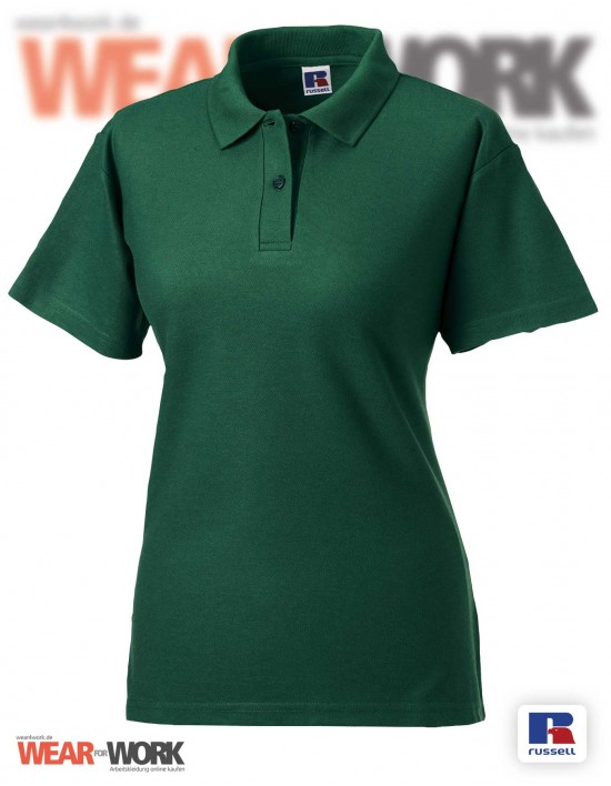 Workwear Polo grün R-539F Damen