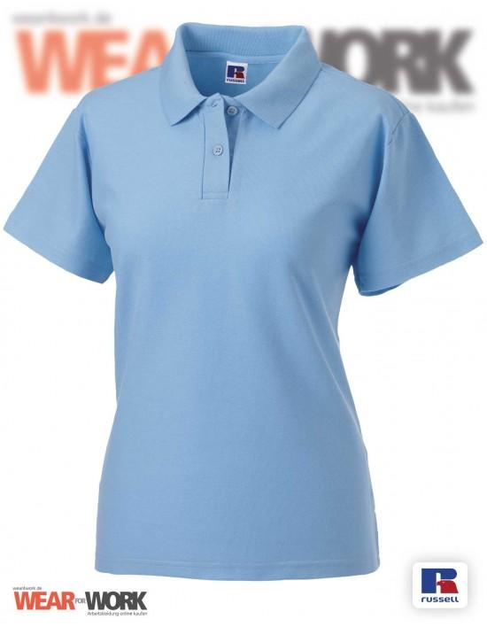 Workwear Polo hellblau R-539F Damen