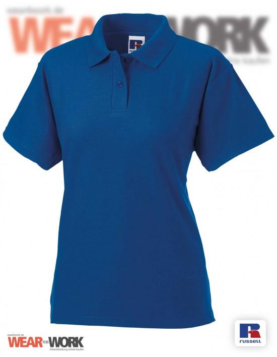 Workwear Polo blau R-539F Damen