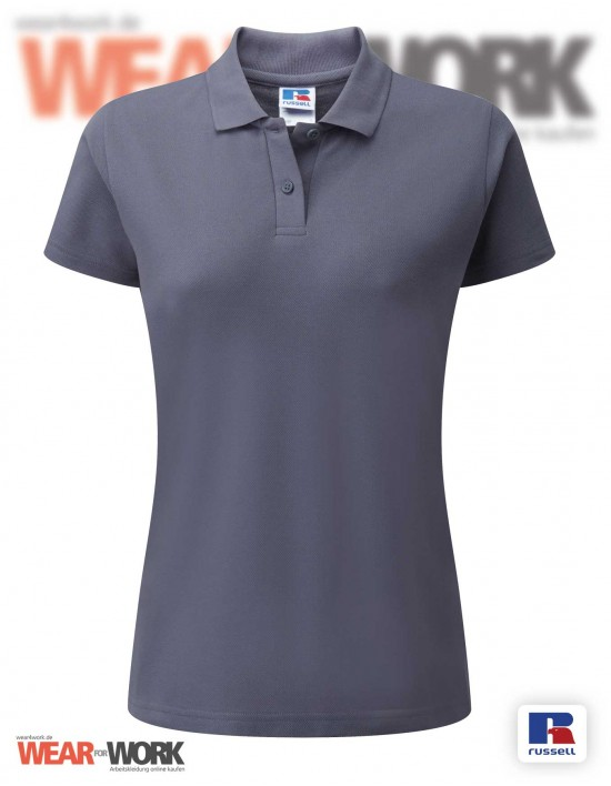 Workwear Polo grau R-539F Damen