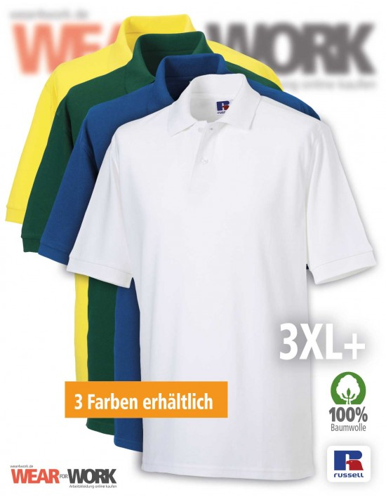 Polo-Shirt R-569M XXX-Large