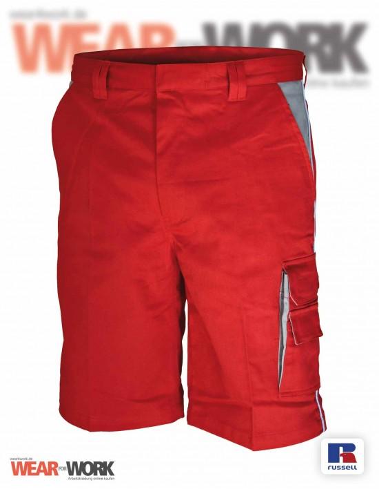 Shorts rot/grau CC709S