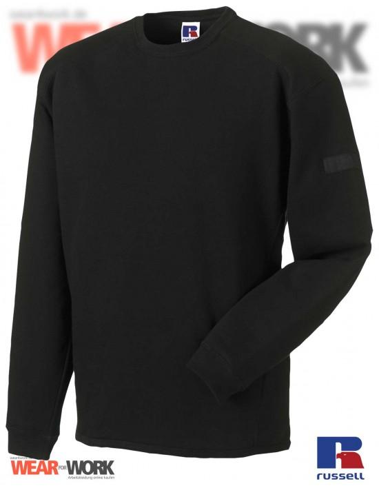 Workwear Sweatshirt schwarz R-013M