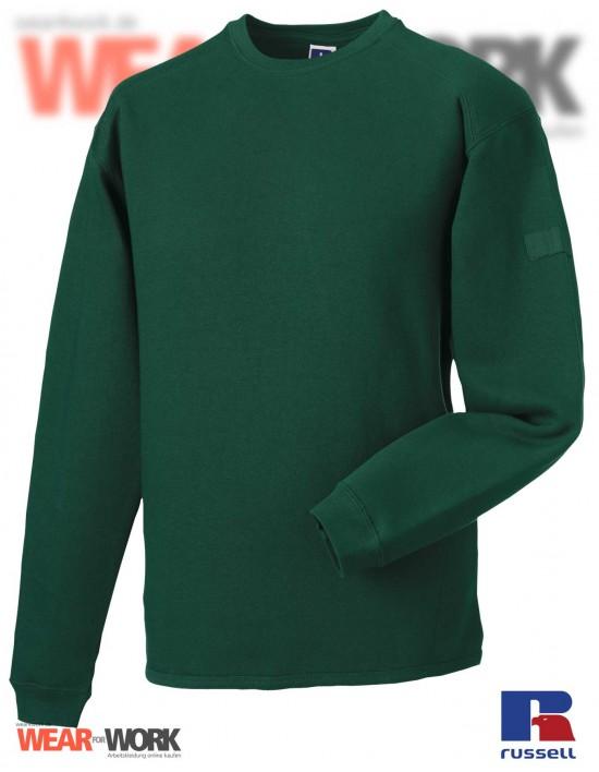 Workwear Sweatshirt grün R-013M