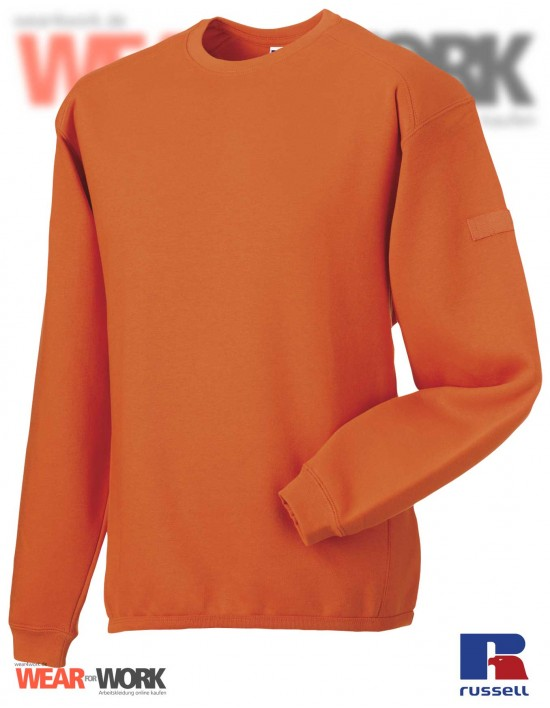 Workwear Sweatshirt orange R-013M