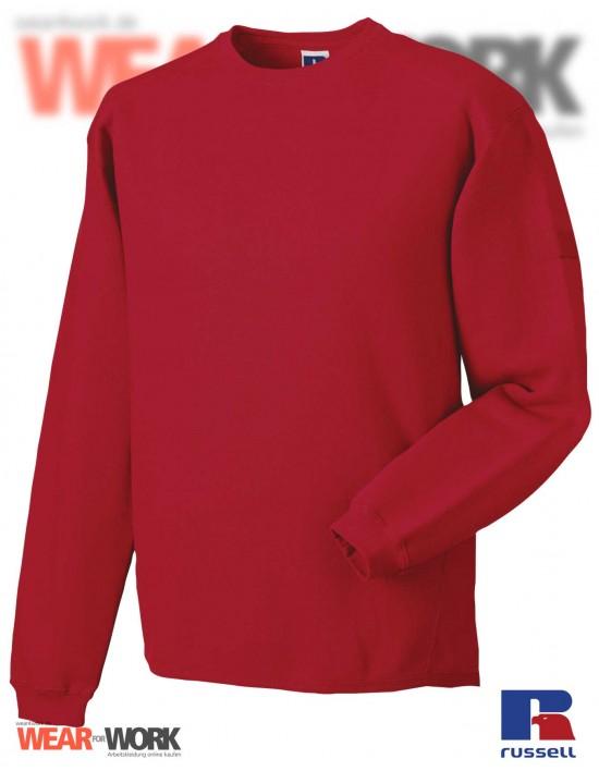 Workwear Sweatshirt rot R-013M