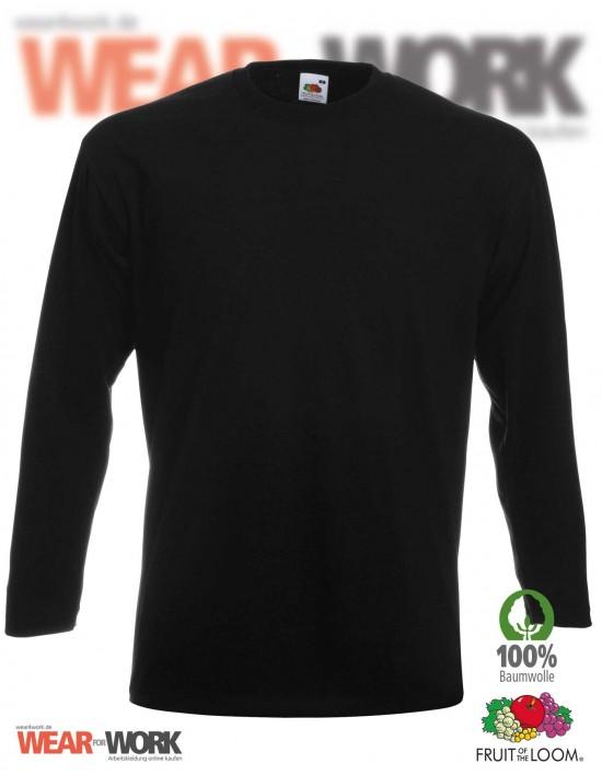 Langarm T-Shirt schwarz