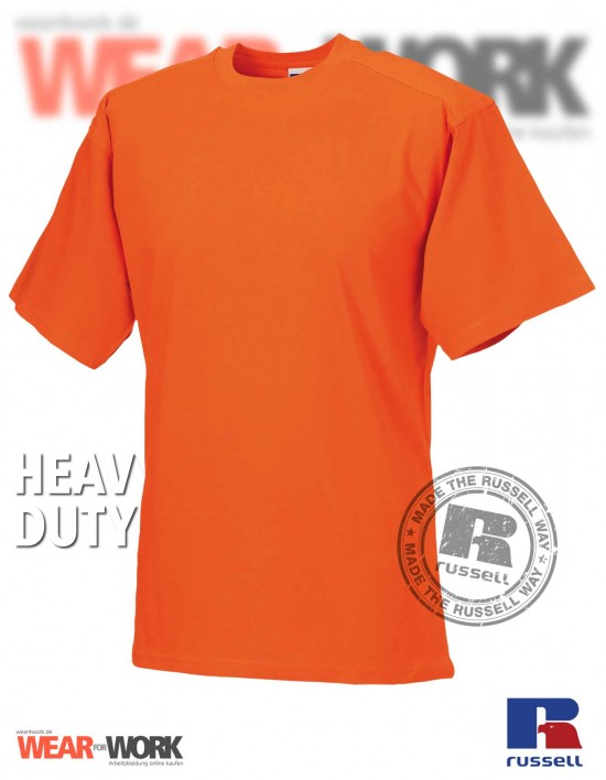 Workwear T-Shirt orange R-010M