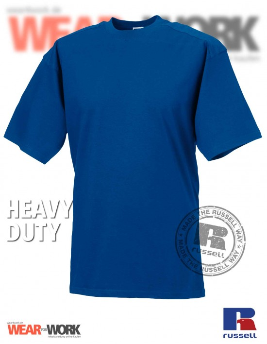 Workwear T-Shirt blau R-010M