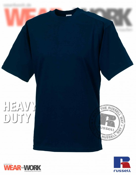 Workwear T-Shirt marine R-010M