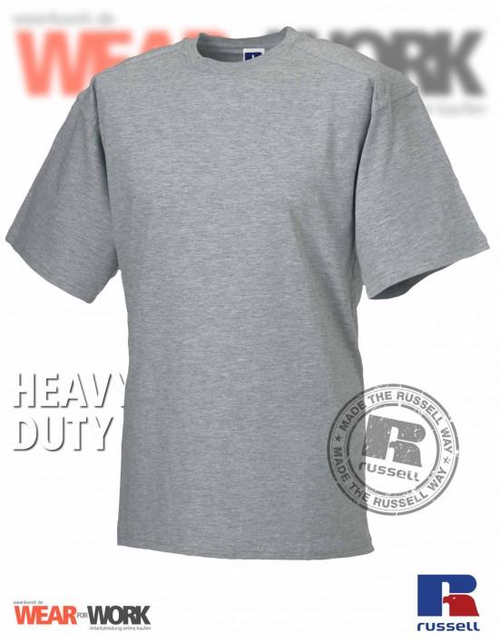 Workwear T-Shirt graumeliert R-010M