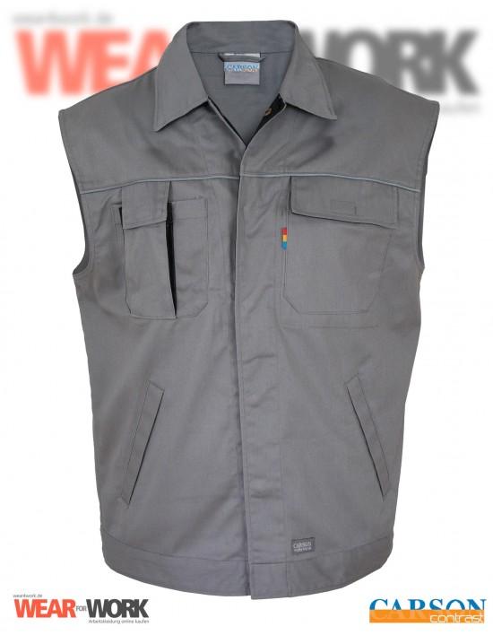 Arbeitsweste grau/schwarz CC700