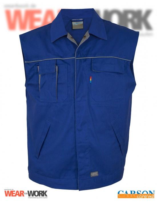 Arbeitsweste blau/grau CC700