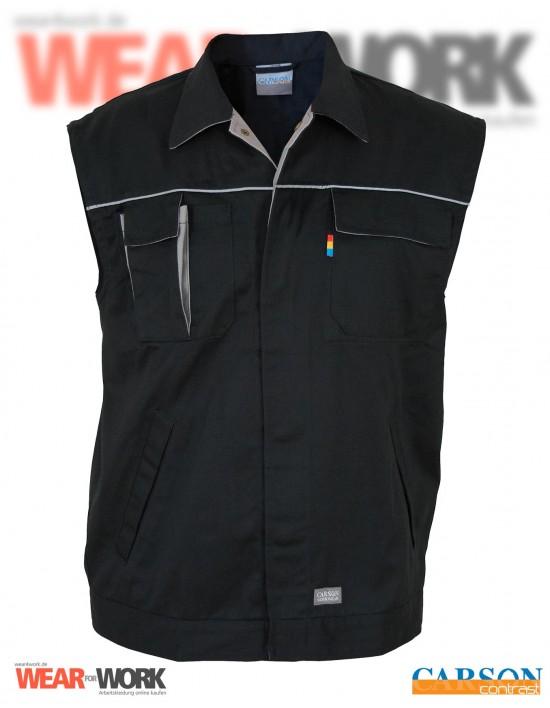 Arbeitsweste schwarz/grau CC700