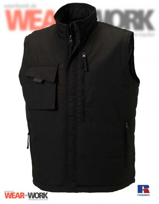 Arbeitsweste schwarz R-014M | black