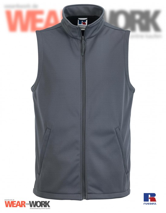Smart Softshell Weste grau R-041 | convoy grey