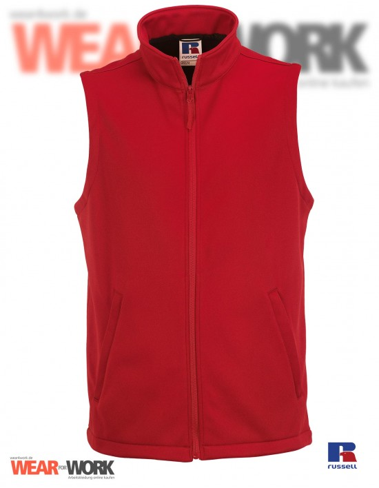 Smart Softshell Weste rot R-041 | classic red