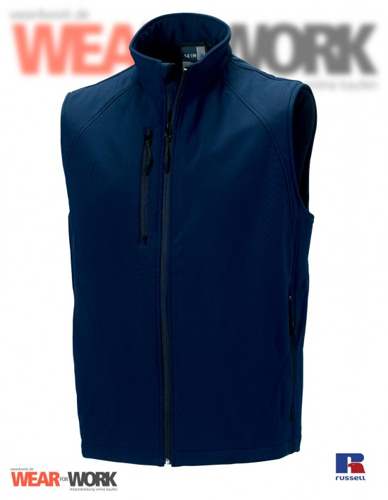 Softshell Weste marine R-141 | french navy